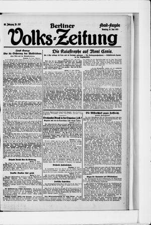 Berliner Volkszeitung vom 21.06.1921