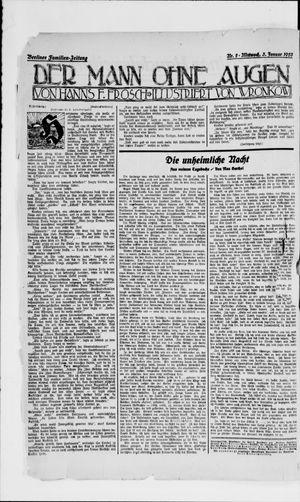 Berliner Volkszeitung on Jan 3, 1923
