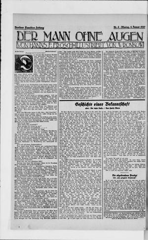 Berliner Volkszeitung vom 08.01.1923