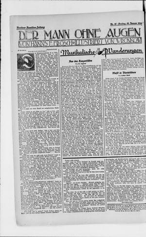 Berliner Volkszeitung vom 19.01.1923