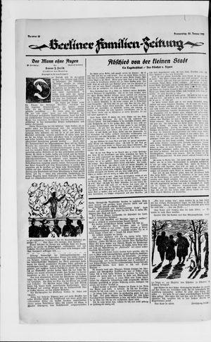 Berliner Volkszeitung vom 25.01.1923