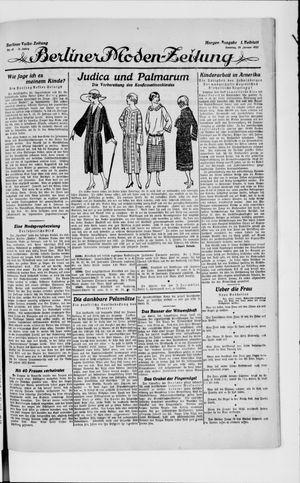 Berliner Volkszeitung vom 28.01.1923