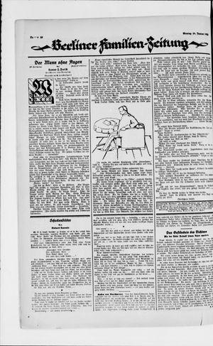 Berliner Volkszeitung on Jan 29, 1923