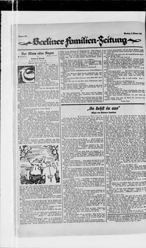 Berliner Volkszeitung vom 05.02.1923