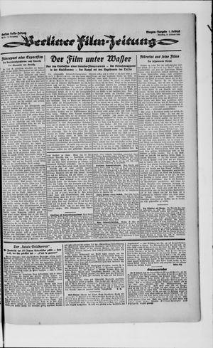 Berliner Volkszeitung vom 13.02.1923