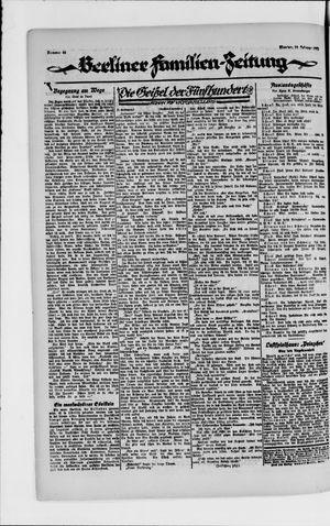 Berliner Volkszeitung vom 19.02.1923