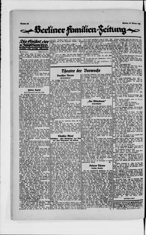Berliner Volkszeitung vom 26.02.1923