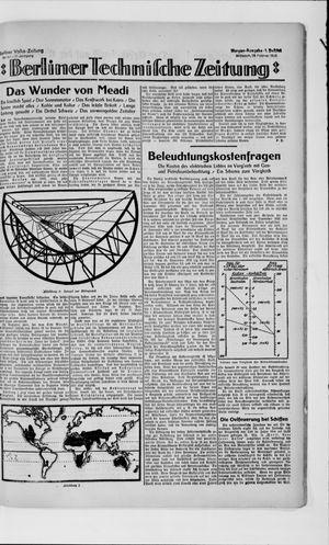 Berliner Volkszeitung vom 28.02.1923