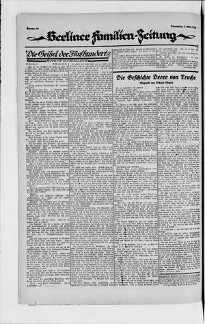 Berliner Volkszeitung vom 01.03.1923