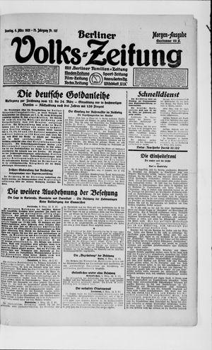 Berliner Volkszeitung vom 04.03.1923