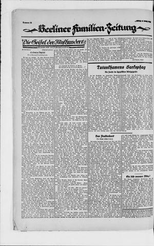 Berliner Volkszeitung vom 05.03.1923