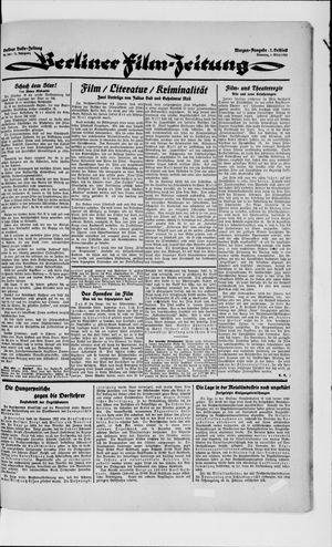 Berliner Volkszeitung vom 06.03.1923