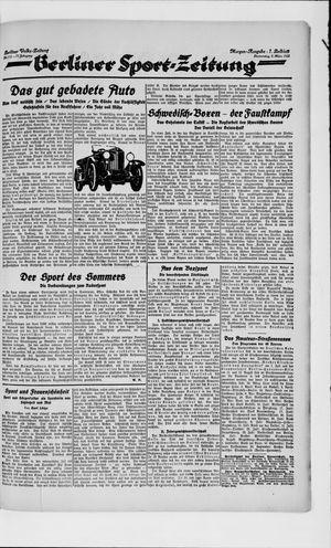 Berliner Volkszeitung on Mar 8, 1923