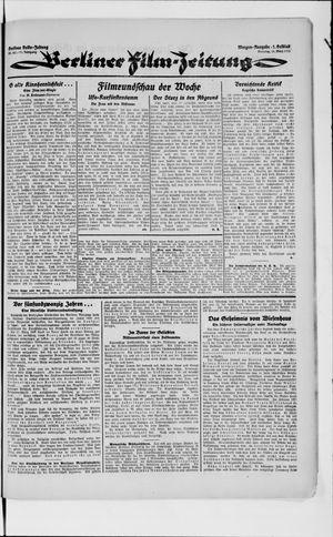 Berliner Volkszeitung vom 13.03.1923
