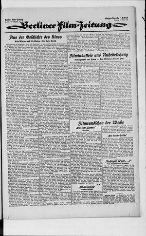 Berliner Volkszeitung vom 20.03.1923