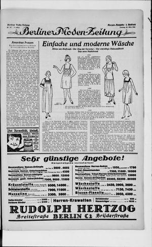 Berliner Volkszeitung vom 25.03.1923
