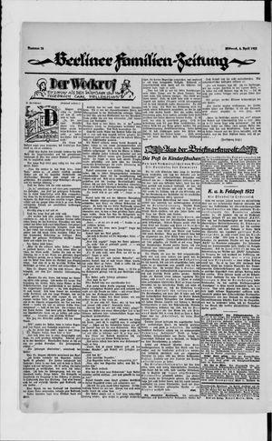 Berliner Volkszeitung vom 04.04.1923