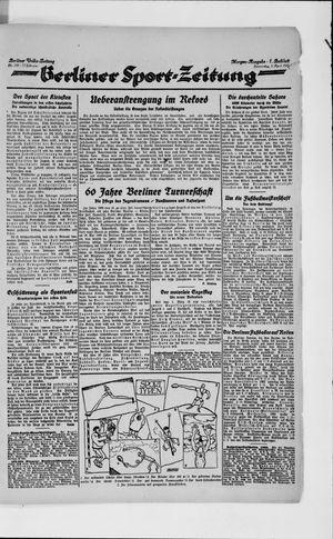 Berliner Volkszeitung on Apr 5, 1923