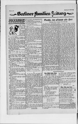 Berliner Volkszeitung vom 10.04.1923