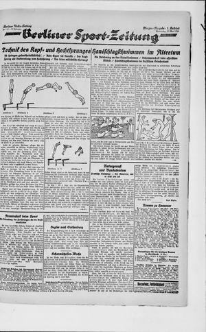 Berliner Volkszeitung vom 12.04.1923