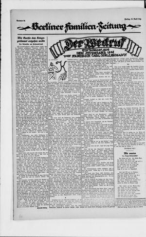 Berliner Volkszeitung vom 13.04.1923
