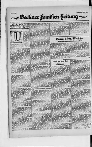 Berliner Volkszeitung vom 18.04.1923