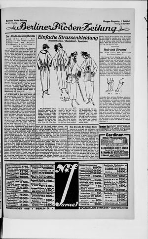 Berliner Volkszeitung vom 29.04.1923