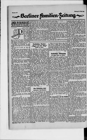Berliner Volkszeitung vom 30.04.1923
