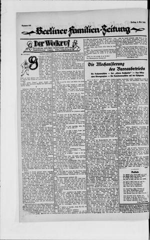 Berliner Volkszeitung vom 04.05.1923