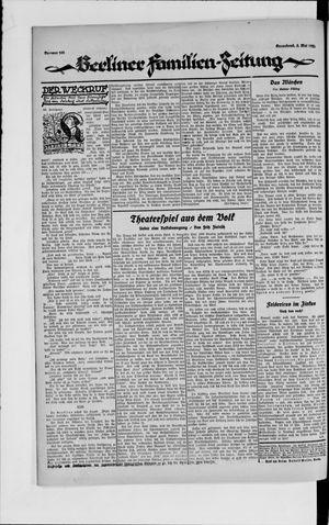 Berliner Volkszeitung vom 05.05.1923