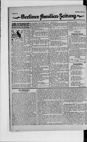 Berliner Volkszeitung vom 08.05.1923