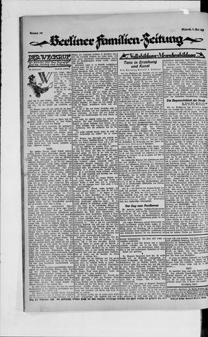 Berliner Volkszeitung vom 09.05.1923