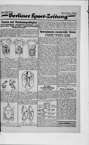 Berliner Volkszeitung vom 10.05.1923