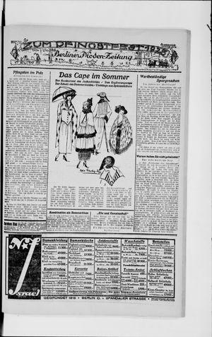 Berliner Volkszeitung vom 20.05.1923