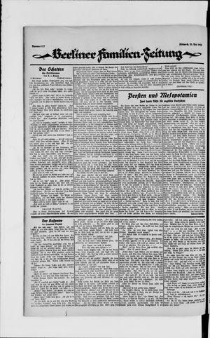 Berliner Volkszeitung vom 23.05.1923