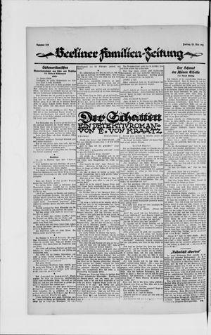 Berliner Volkszeitung vom 25.05.1923