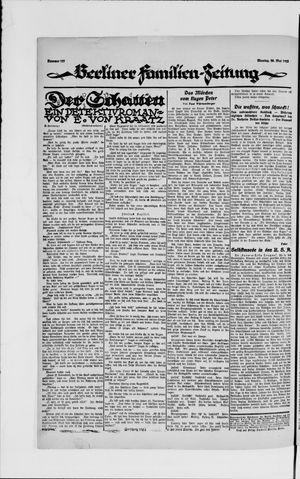 Berliner Volkszeitung vom 28.05.1923