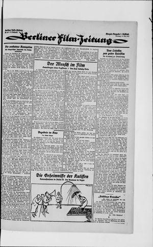 Berliner Volkszeitung vom 29.05.1923