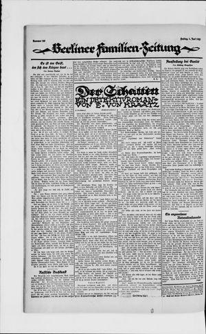 Berliner Volkszeitung vom 01.06.1923