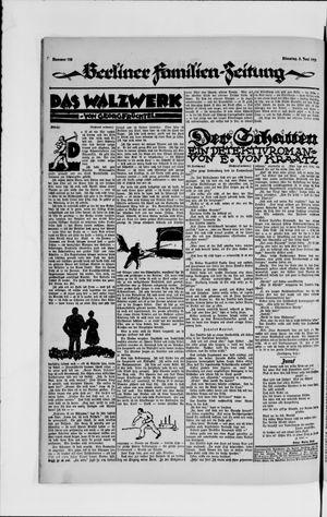 Berliner Volkszeitung vom 05.06.1923