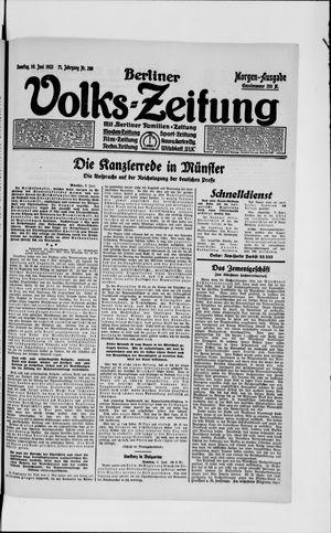 Berliner Volkszeitung on Jun 10, 1923