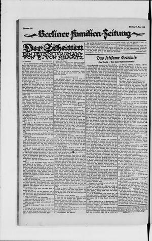 Berliner Volkszeitung vom 11.06.1923