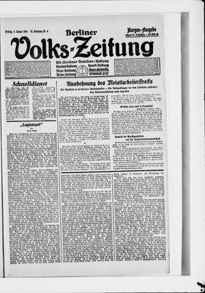 Berliner Volkszeitung on Jan 4, 1924
