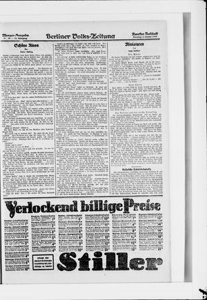 Berliner Volkszeitung vom 06.01.1924