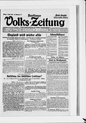 Berliner Volkszeitung vom 07.01.1924