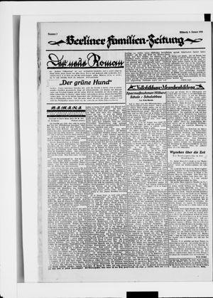Berliner Volkszeitung vom 09.01.1924
