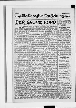 Berliner Volkszeitung on Jan 14, 1924