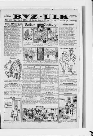 Berliner Volkszeitung vom 19.01.1924