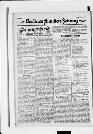 Berliner Volkszeitung vom 21.01.1924