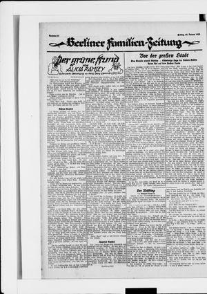 Berliner Volkszeitung vom 25.01.1924